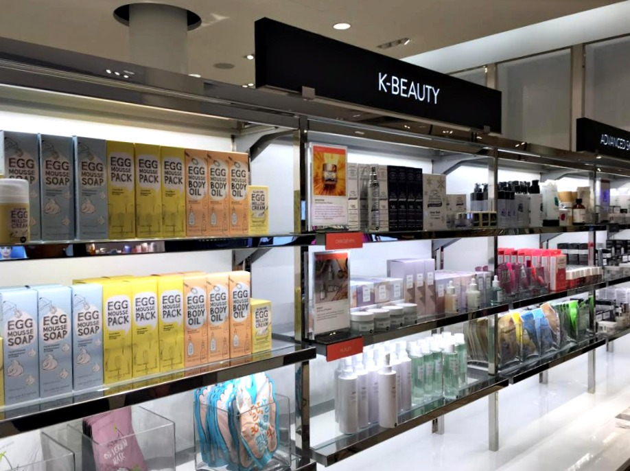 (A first -- korean beauty, which will be rolled-out into other nordstrom stores in Canada and the US)