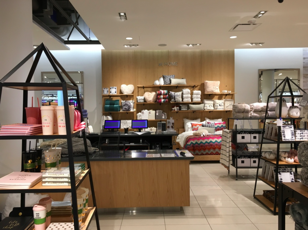(CF Sherway is the first Nordstrom store in Canada to feature the 'nordstrom at home' department. CF Toronto Eaton Centre will get a department next month)