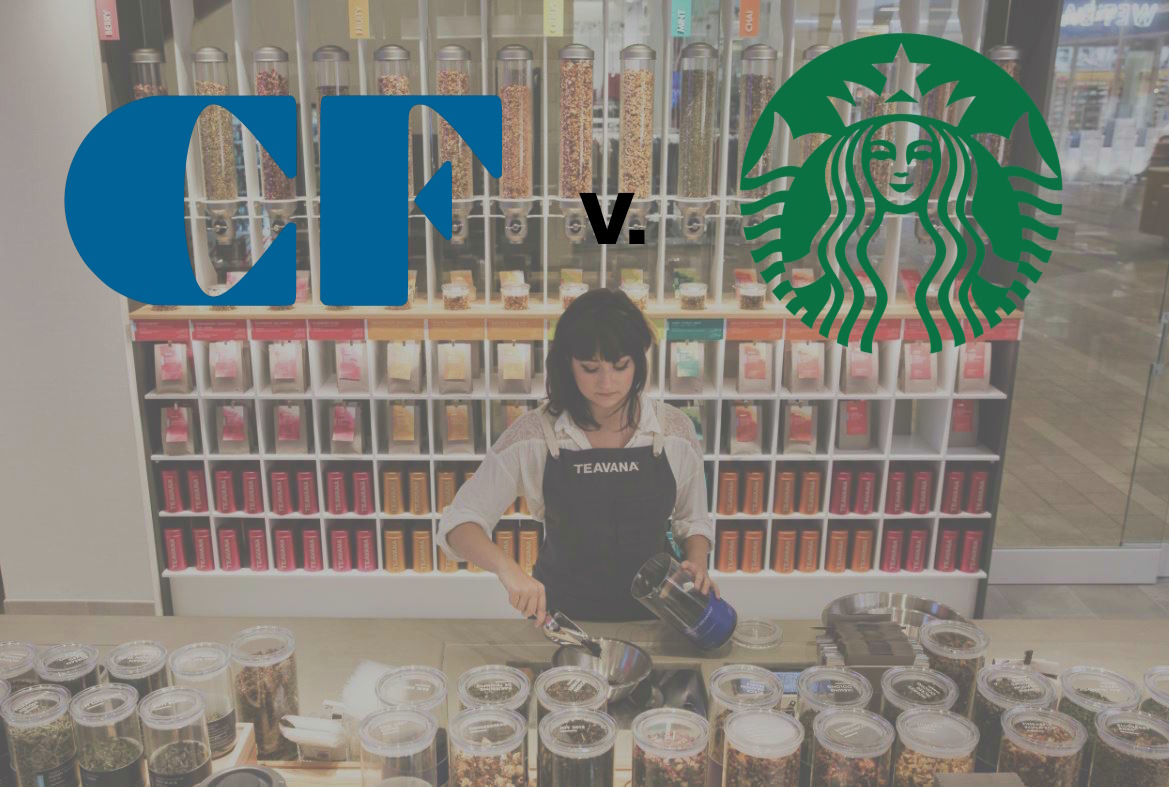 Cadillac Fairview Sues Starbucks Over Teavana Closures