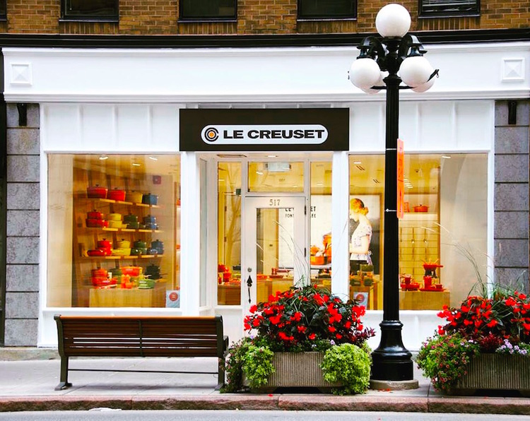 (Ottawa store. Photo: Le Creuset/think Retail)