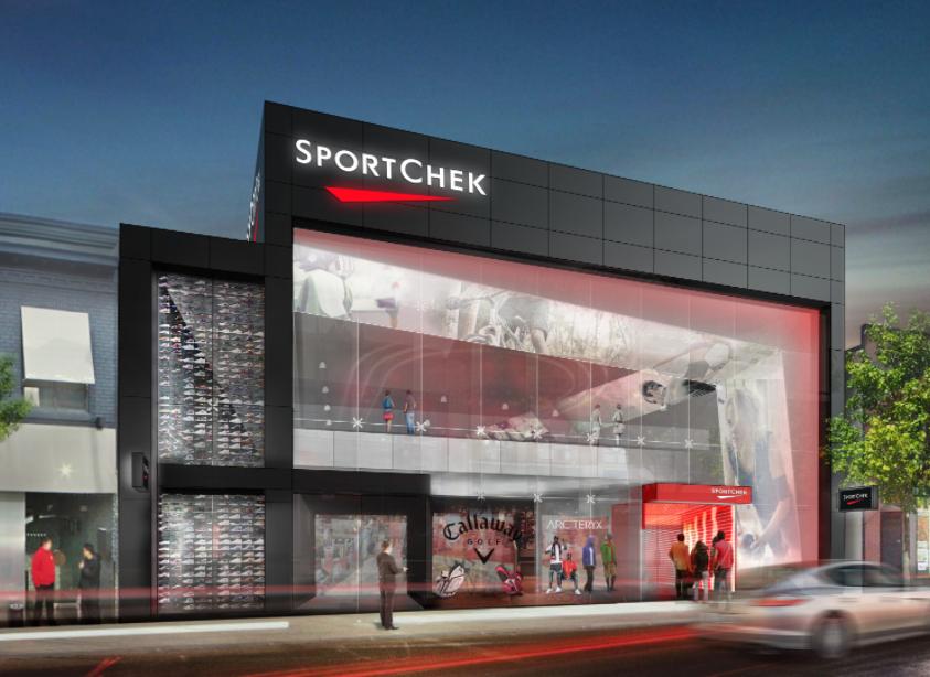 Sport Chek Expanding