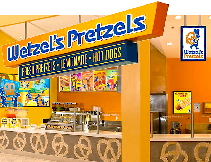 Wetzel's Pretzels Announces Canada-Wide Expansion
