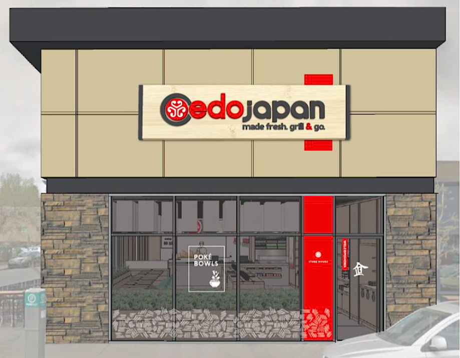 (New store design, rendering: edo japan via jll)