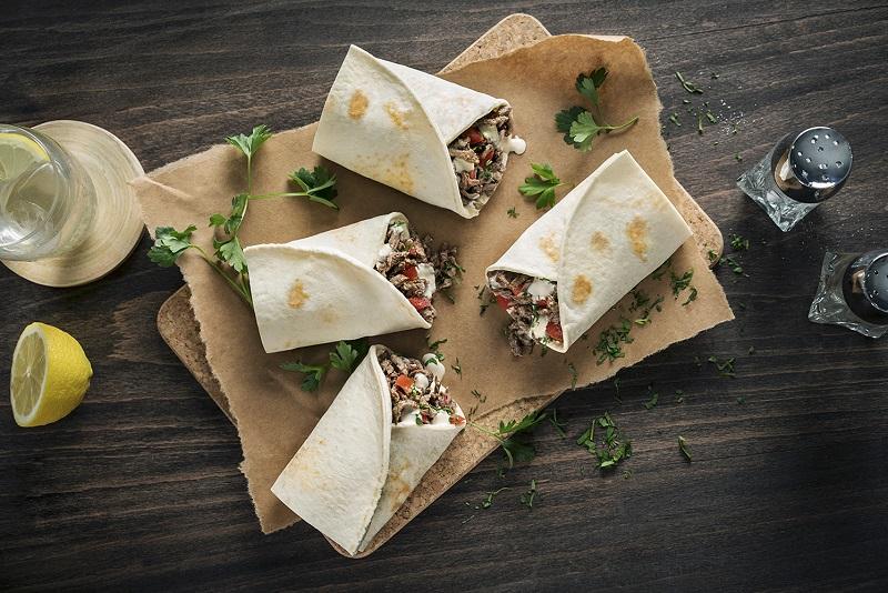 (Shawarma wrap)