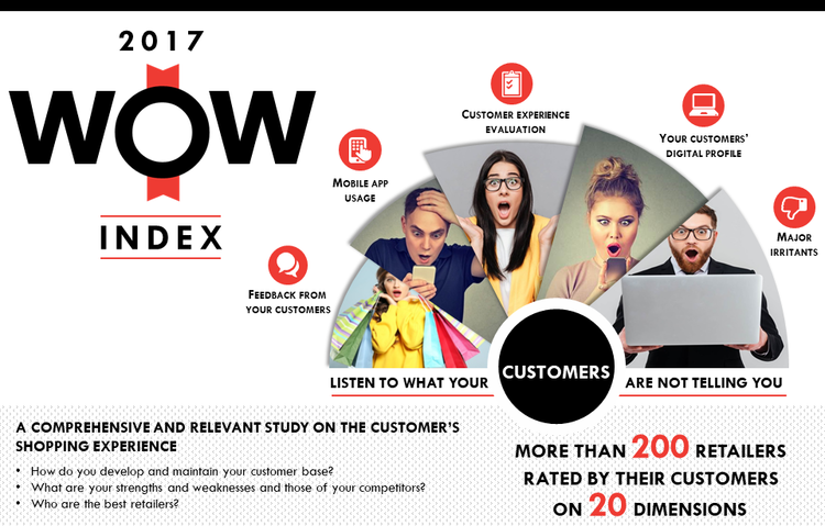 Leger Invites You To Attend The Annual WOW Customer Experience Index Be First See Who Top Retailers Are In Ontario And