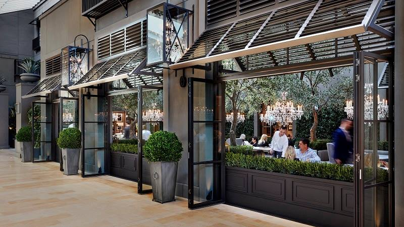 Restoration Hardware Cafe : Inside yorkdale s impressive square foot rh