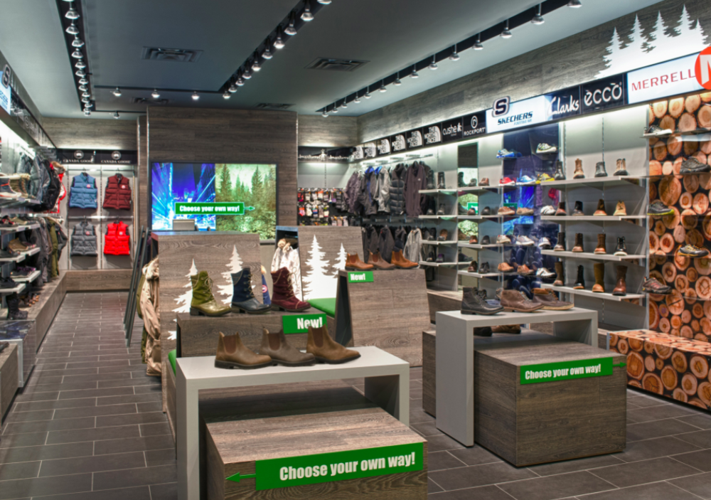 (Urban Trail store design. Photo: Ruscio Studio)
