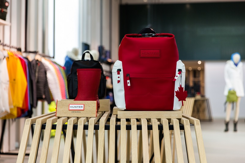 ('Toronto Limited Edition Original Top Clip Backpack', exclusive to the Yorkdale location)