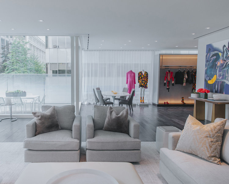 ('The Apartment' VIP personal shopping suite in Vancouver. Photo: Holt Renfrew)