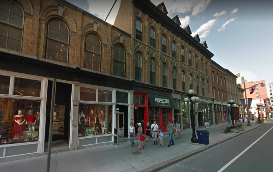 (Sussex Drive in Ottawa. PHoto: Google Street View Screen Capture)