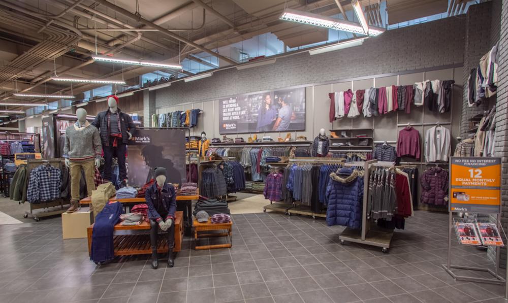 (Updated store interior. Photo: Mark's)