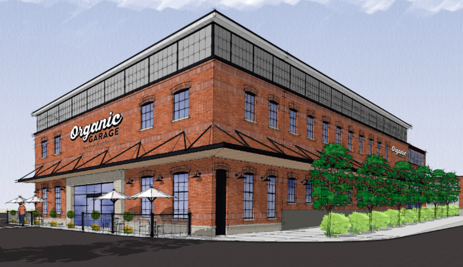 (Rendering of the new Leaside store, set to open next year)