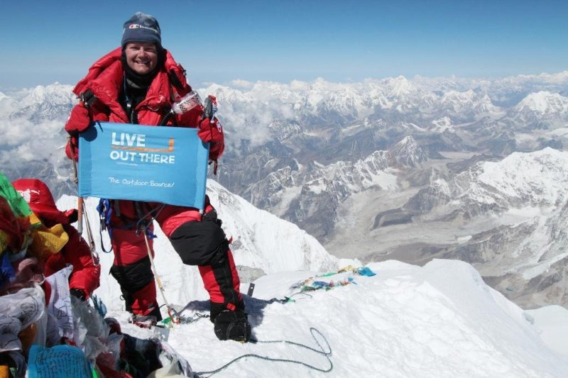 "(""Climb with us"": 2010 HanesBrands Mount Everest Expedition - Jamie Clarke - LinkedIn)"
