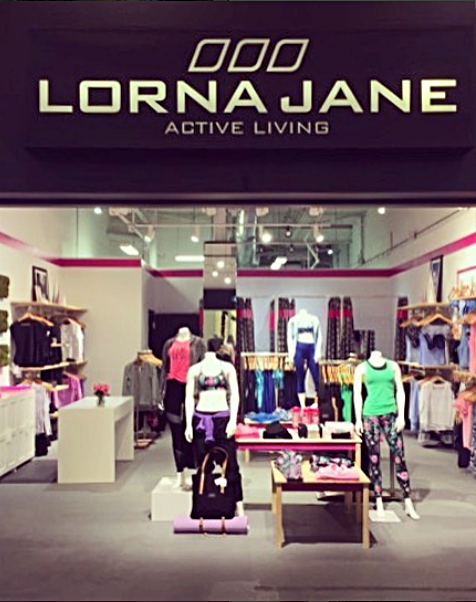 (Lorna Jane Opening at Yorkdale Shopping Centre - Lorna Jane Toronto Instagram)