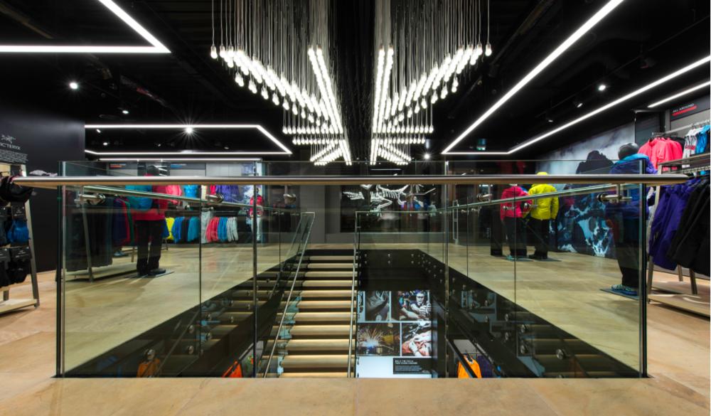 (Inside a store in London, UK)