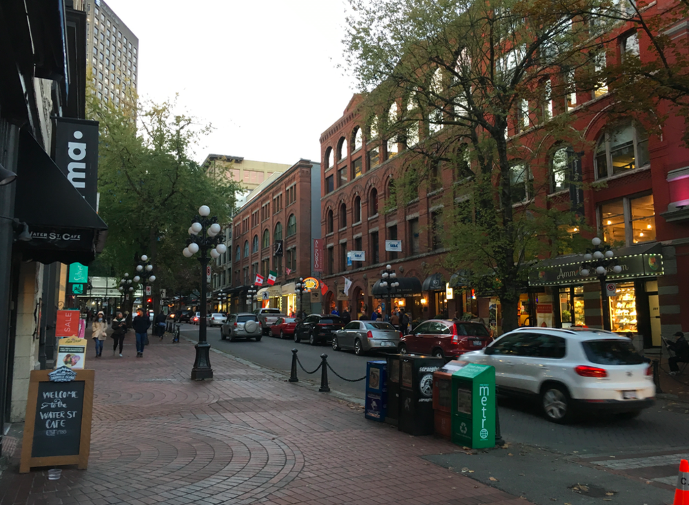 (Gastown in Vancouver. Photo: Craig Patterson)