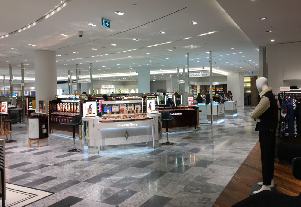 (Holt Renfrew in VAncouver. Photo: Craig Patterson)