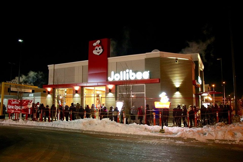 Grand Opening of First Canadian Restaurant in Winnipeg