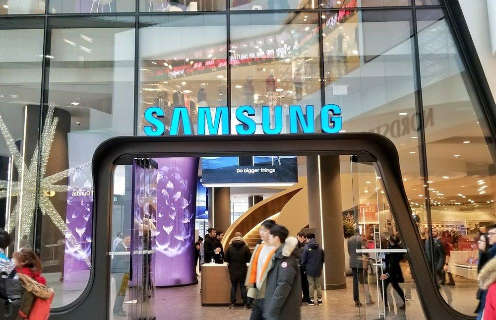 (Mall entrance. Photo: Samsung)