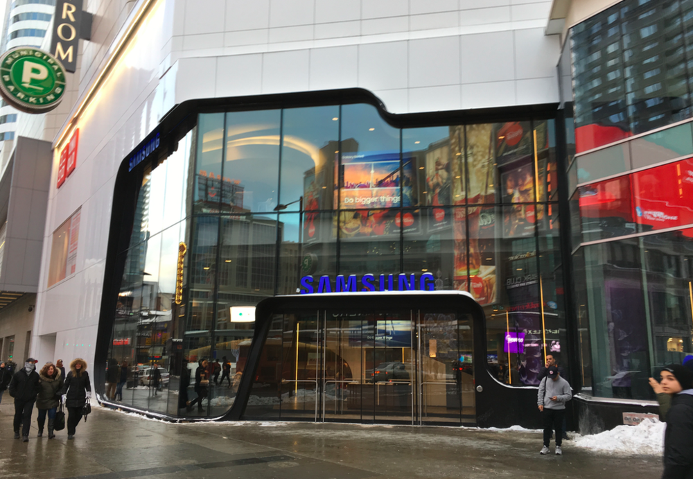 (Yonge Street entrance on a particularly chilly day in Toronto. Photo: Craig Patterson)