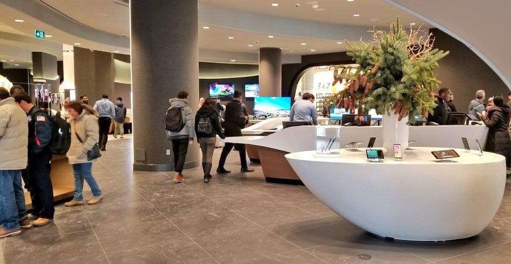 (Main Floor product areas. Photo: Samsung)