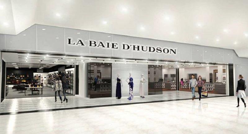 Renovated La Baie store, image via Hudson's Bay Company