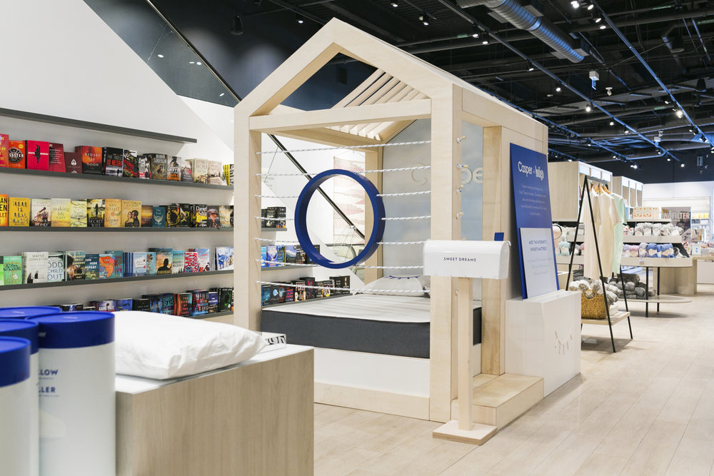 casper partners with indigo to expand canadian brick and mortar presence. Black Bedroom Furniture Sets. Home Design Ideas
