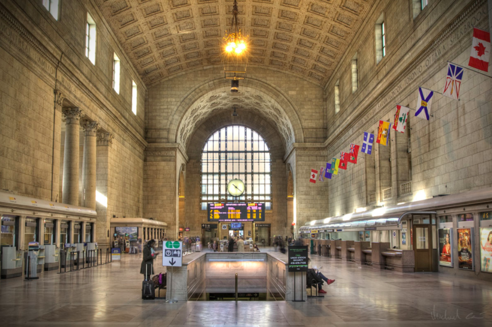 (Great Hall at Union Station, Photo: Wikipedia)