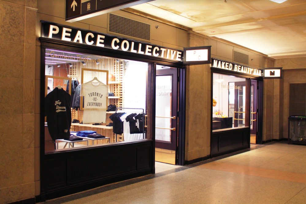 (Peace Collective and Naked Beauty boutiques are among the newest to open)