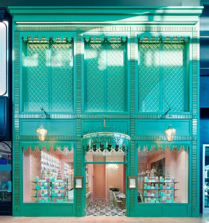 (Yorkdale's Ladurée opened in DECEMBER of 2017. Photo: Ladurée)