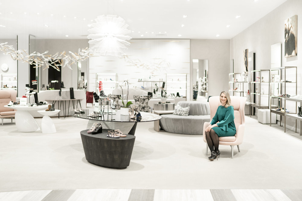 (Women's 10022-SHOE salon.   Photo: Saks Fifth Avenue)