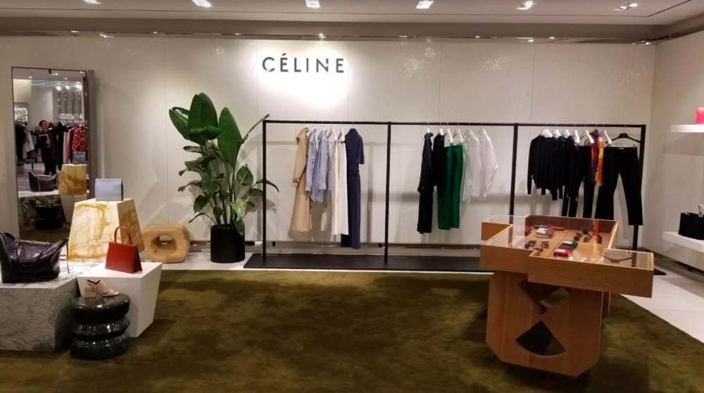 (Celine women's ready-to-wear boutique on 3. Photo: Helen Siwak)