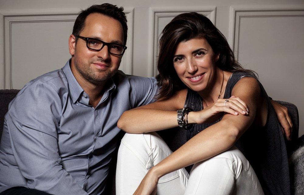 Christophe Cervasel and Sylvie Ganter