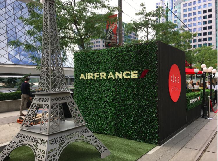 (Air France POP-UP at Toronto International Film Festival)