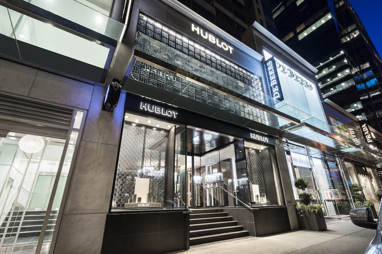 [Hublot opened one of its largest stores in the world last summer in Vancouver's 'luxury zone'. Photo: Hublot]
