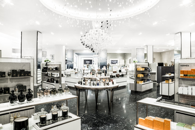 [Inside Saks Fifth Avenue's Calgary store, which opened last month at CF Chinook Centre. Louis Vuitton, which is expanding its presence in Canada in cities such as Vancouver, Edmonton and Toronto, will open a 4,700 square foot store across from Saks in the mall later this year. Photo: Saks Fifth Avenue]