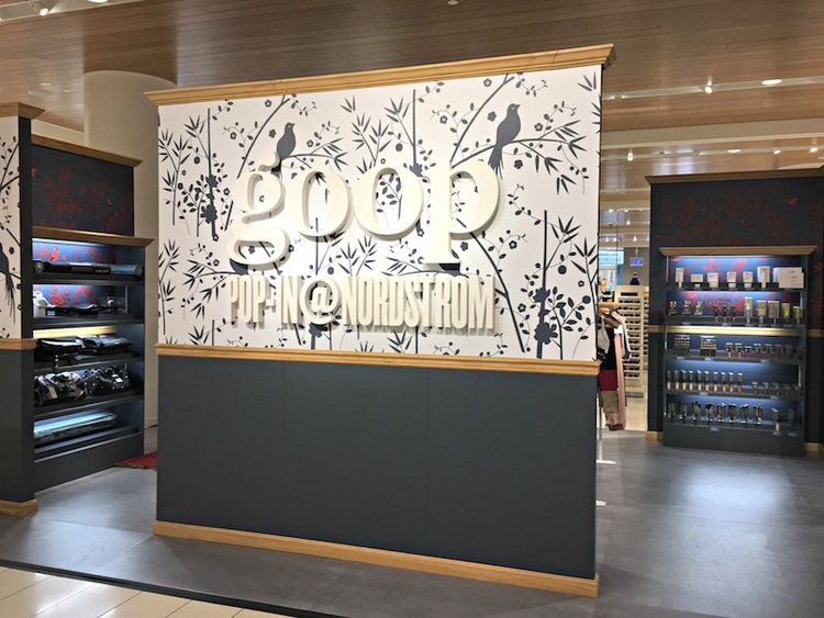 GOOP POP-UP AT NORDSTROM AT CF TORONTO EATON CENTRE IN THE SPRING OF 2017