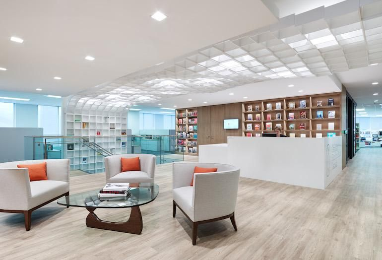 [Penguin Random House Offices at 320 Front St. W. in Toronto]