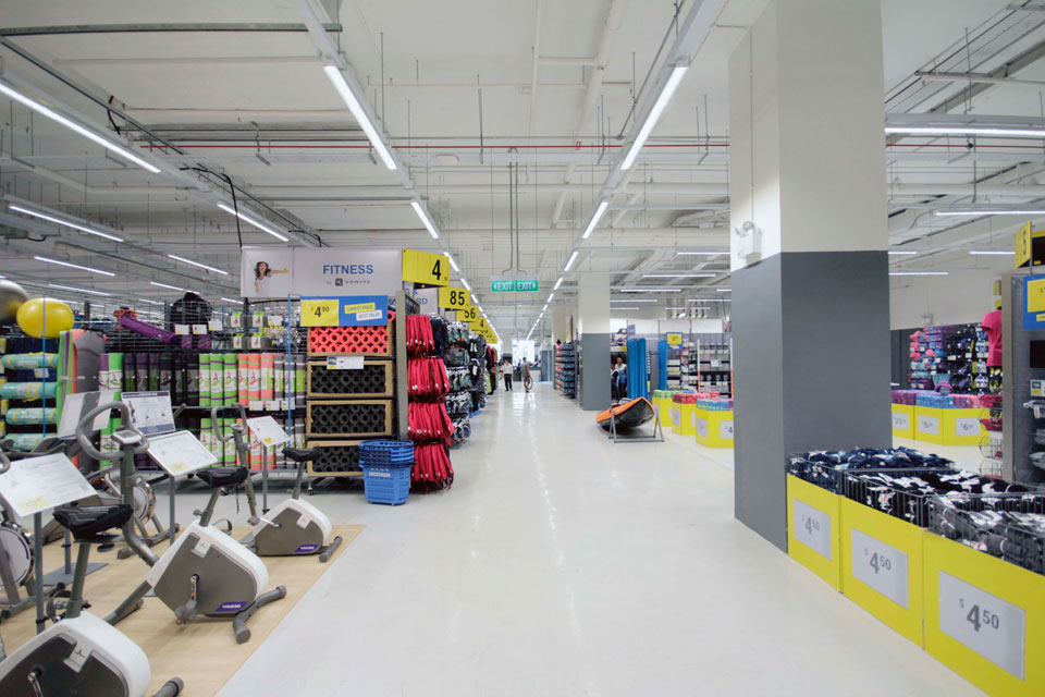 Singapore store. Photo: RunSociety