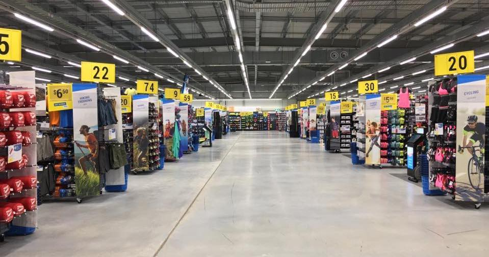 Sydney store in December of 2017. Photo: Decathlon