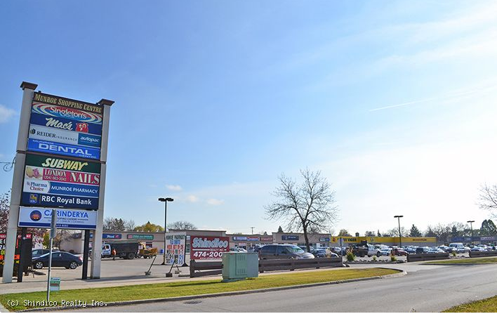 Munroe Shopping Centre -517 London Street Winnipeg, Manitoba. Photo: Google Maps