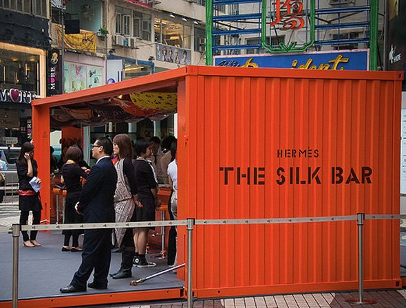 Hermes Pop-Up Store in Hong Kong. Photo:  Global Toy News