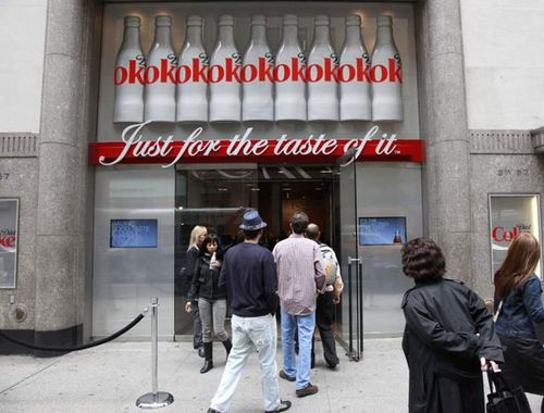 Coke Pop-Up Store in Boston. Photo:  Global Toy News