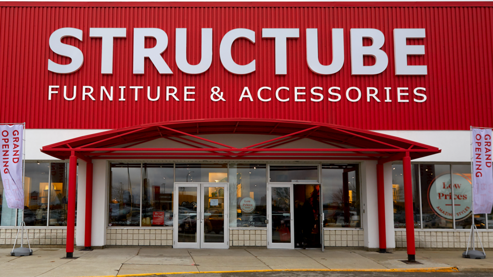 [Hamilton/ancaster Store. Photo: Structube via BICOM]