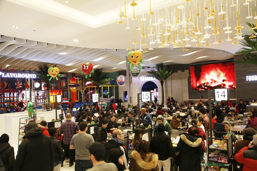 Busy dining area. Photo: Nations