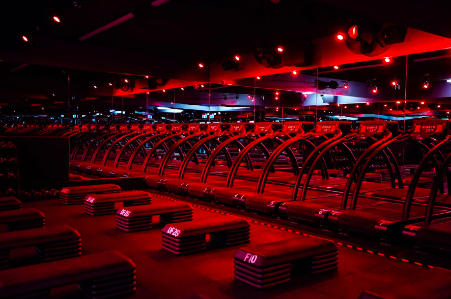 'Red Room' - Photo: Barry's Bootcamp