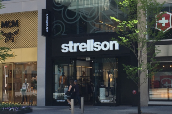 online retailer 7046d 24bf3 Strellson Officially Opens New Canadian Flagship on ...
