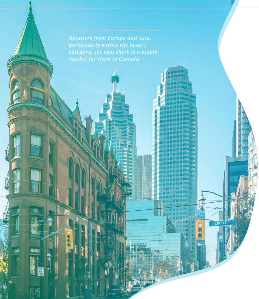 Toronto Photo: CBRE ' How Global is the Business of Retail ?' 2018 report