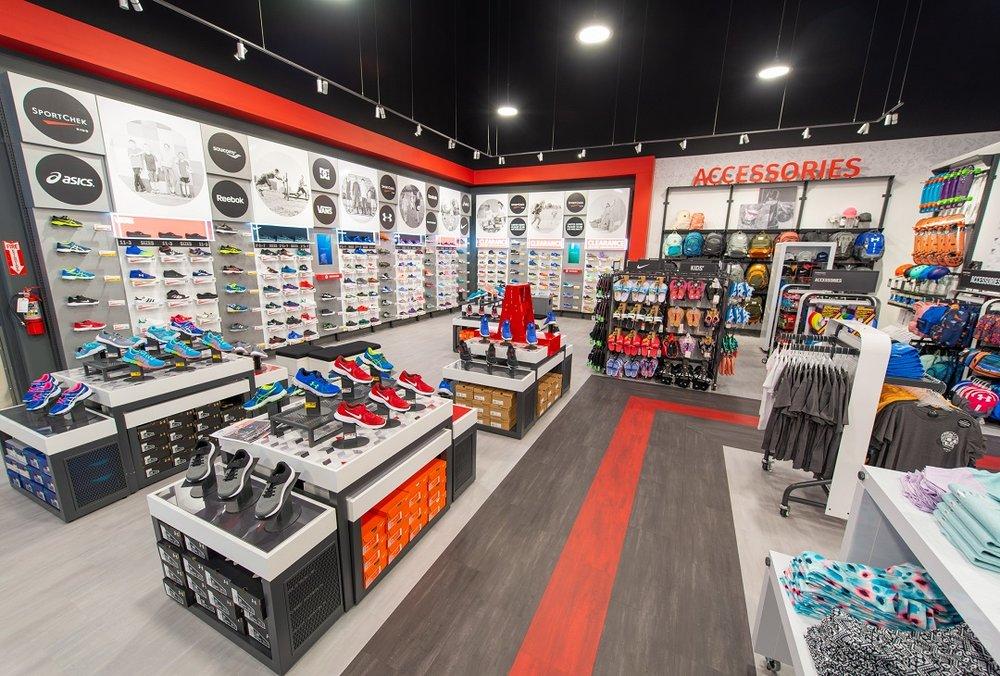 Footwear Area. Photo: Sport CheK