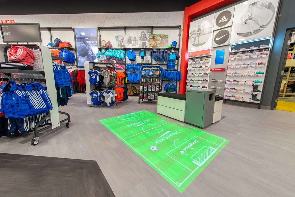 Interactive Game Area. Photo: Sport Chek